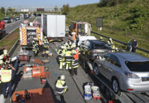 Schwerer Verkehrsunfall auf der A99