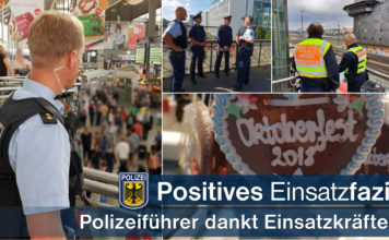 Bundespolizei zieht positives Wiesnfazit