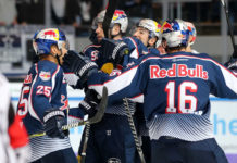 EHC Red Bull München gegen Schwenninger Wild Wings
