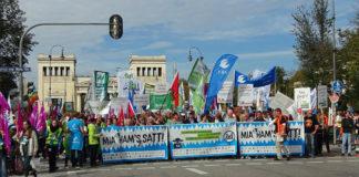 18.000 Menschen bei der Mia ham's satt Demo in München