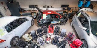 18 Kindersitze im Test – vier mit Schadstoffen belastet