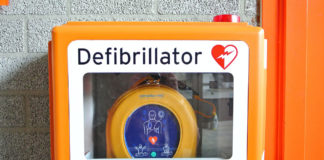 Defibrillator rettet Leben
