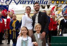 Erstes Kinderprinzenpaar in der 125-jährigen Geschichte der NARRHALLA München