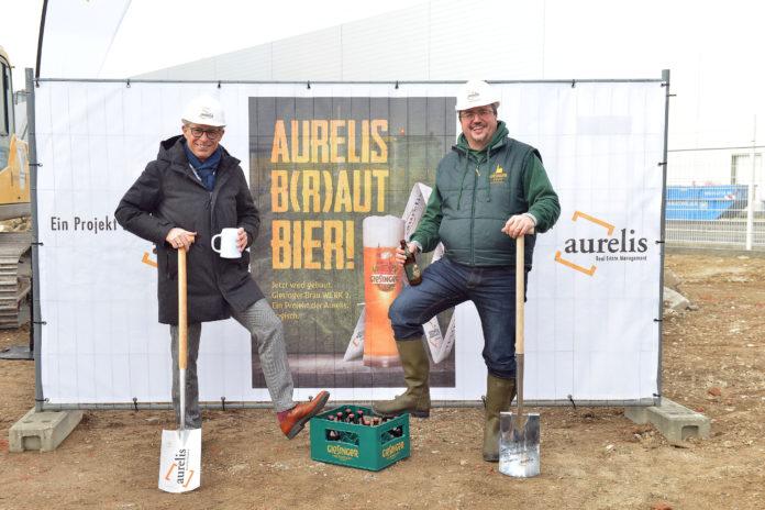 Giesinger Bräu - Spatenstich für das Werk 2