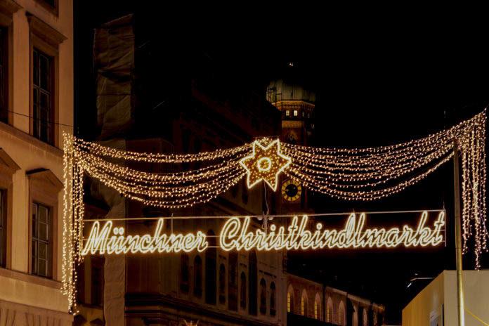 Münchner Christkindlmarkt unter Corona-Bedingungen