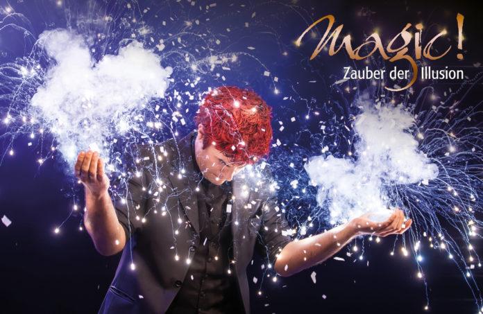 Magic! - Zauber der Illusion vom 30.12.2018 bis 04.01.2019 im Prinzregententheater München