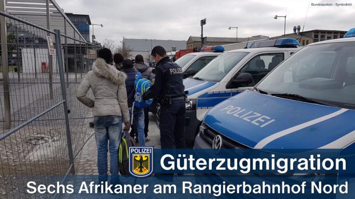 Güterzugmigration - Sechs Afrikaner am Rangierbahnhof Nord aufgegriffen