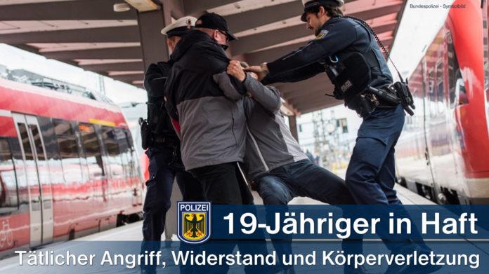 19-Jähriger in Haft - Tätlicher Angriff, Widerstand und Körperverletzung