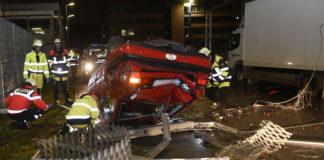 Moosach: Kurioser Unfall