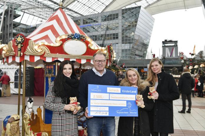 Flughafenverein und Kinderland unterstützen die Deutsche Kinderrheuma-Stiftung