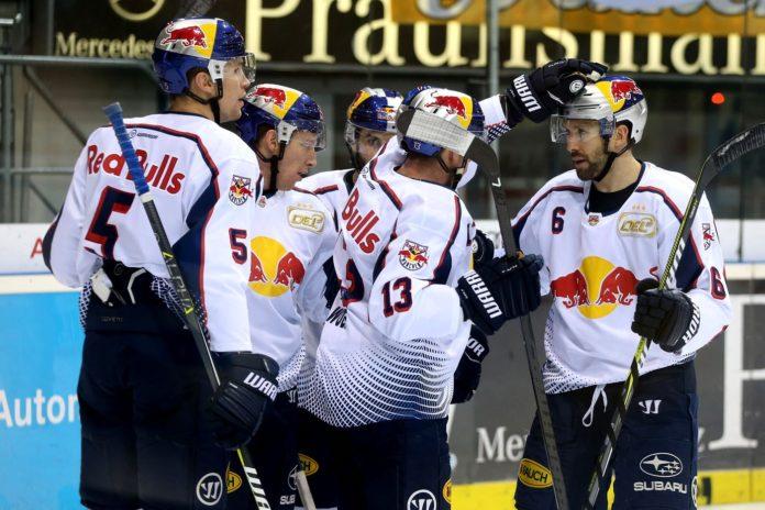 EHC Red Bull München: Derbysieg am 2. Weihnachtsfeiertag