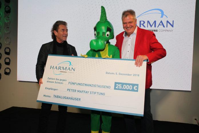 HARMAN unterstützt die Peter Maffay Stiftung
