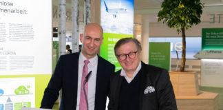 """Neues """"Green Gate"""" am Münchner Airport zeigt Passagieren nachhaltigen Luftverkehr"""