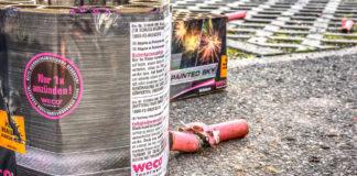 Unerlaubtes zünden von Pyrotechnik im gesamten Stadtgebiet