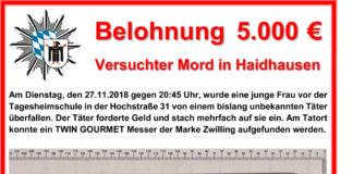 Versuchter Mord in Haidhausen