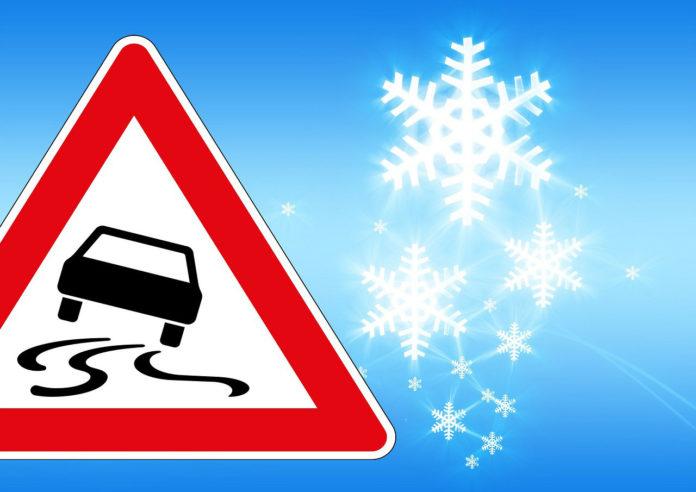 306 Verkehrsunfälle wegen Schneefall