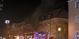 Laim: Zimmerbrand verursacht hohen Schaden