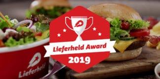 Lieferheld Award 2019: Pizza La Gondola als bester Lieferservice Münchens ermittelt