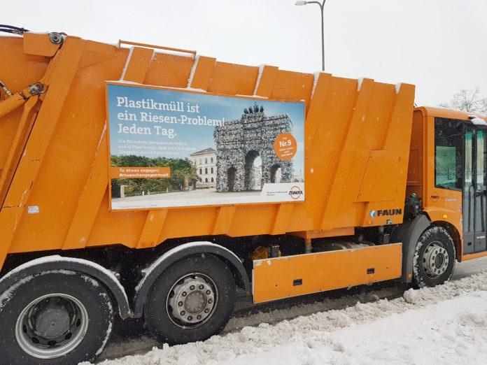 Unregelmäßigkeiten bei der Müllabfuhr wegen winterlicher Straßen