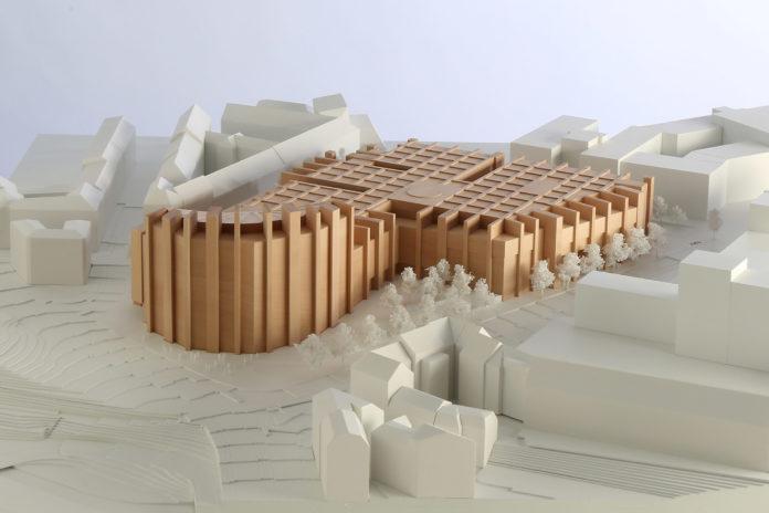 Die Lange Nacht der Architektur im Gasteig: Modell Wulf Architekten