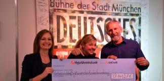 Deutsches Theater sammelt über 37.000 Euro für die Arche München