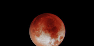 Totale Mondfinsternis - Blutmond am 21. Januar 2019