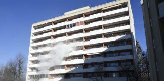 Freimann: Feuer im Hochhaus