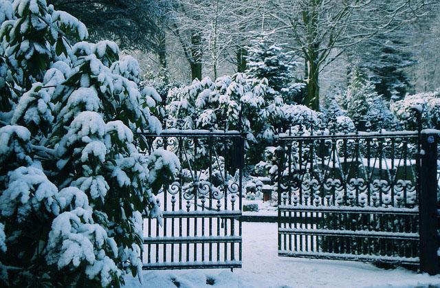 Schließung aller städtischen Friedhöfe wegendes starken Schneefalles