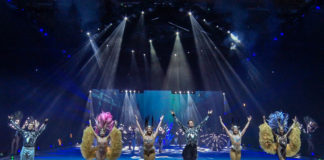 Standing Ovations bei HOLIDAY ON ICE Show ATLANTIS in München