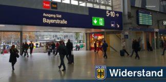 Reisende belästigt - Beamte angegriffen