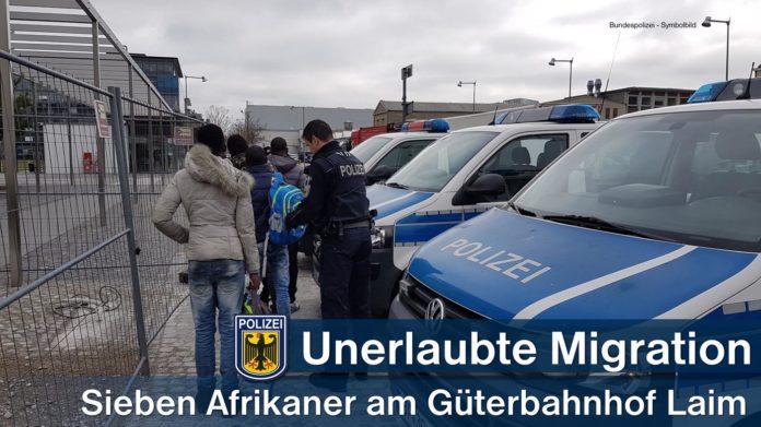 Sieben unerlaubt auf Güterzügen eingereiste Migranten aufgegriffen