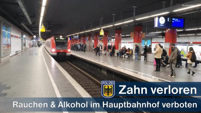 Hauptbahnhof: Zwei Verletzte bei Streit um Rauch und Alkohol - 26-Jähriger verlor Zahn