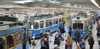 MVG Museum am Sonntag geöffnet – mit Modelleisenbahn-Markt