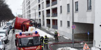 Riem: Pkw-Brand in einer Tiefgarage