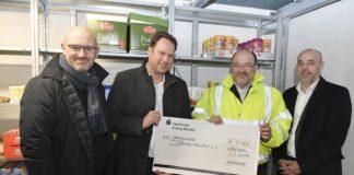 Hilfe für Obdachlose: AeroGround spendet Trinkgelder an Kältebus München e.V.