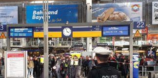 Verdächtigen Gegenstand: 45-minütige Bahnsteig-/Gleissperrung am Münchner Hauptbahnhof
