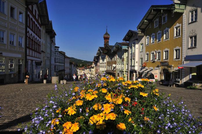Die Marktstraße in Bad Tölz