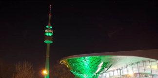 Greening beim 24. St. Patrick's Day Festival München