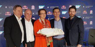 Olympiapark: Neuen multifunktionalen Sportarena vorgestellt