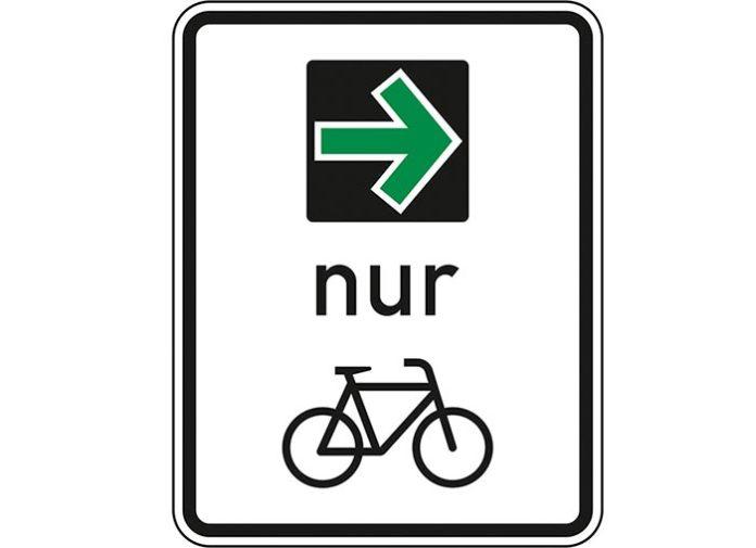 Pilotprojekt Grüner Pfeil für den Radverkehr startet