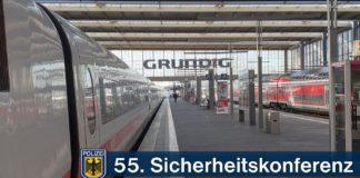 55. Münchner Sicherheitskonferenz - Bundespolizei mit Einsatzverlauf sehr zufrieden