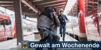 Mehrere Gewaltdelikte am Wochenende - Glimpflicher Ausgang mit nur leichten Verletzungen
