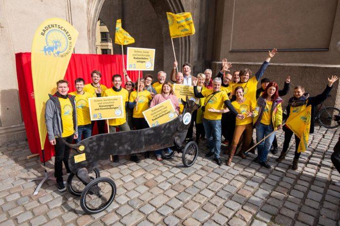 Radentscheid München fordert Vorrang für Radverkehr und Altstadt-Radlring