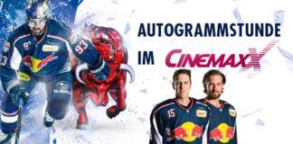 EHC Red Bull München Stars am 12.03.2019 zu Gast im CinemaxX München