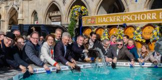 Geldbeutelwaschen im Fischbrunnen 2019