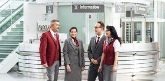 Neuer Look am Münchner Airport: 2.000 Mitarbeiter tragen jetzt neues Outfit in schickem Purpur und Anthrazit