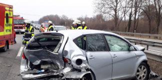 Tragischer Folgeunfall auf der Autobahn
