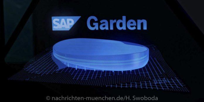 Neue multifunktionale Sportarena heißt SAP Garden