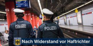 Bundespolizei-Rechtsmedizin-Haftanstalt - 33-Jähriger heute vor Haftrichter