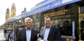 Linie 100: Münchens erste E-Buslinie kommt